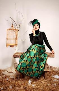 model hijab Igo Cantik berkebaya