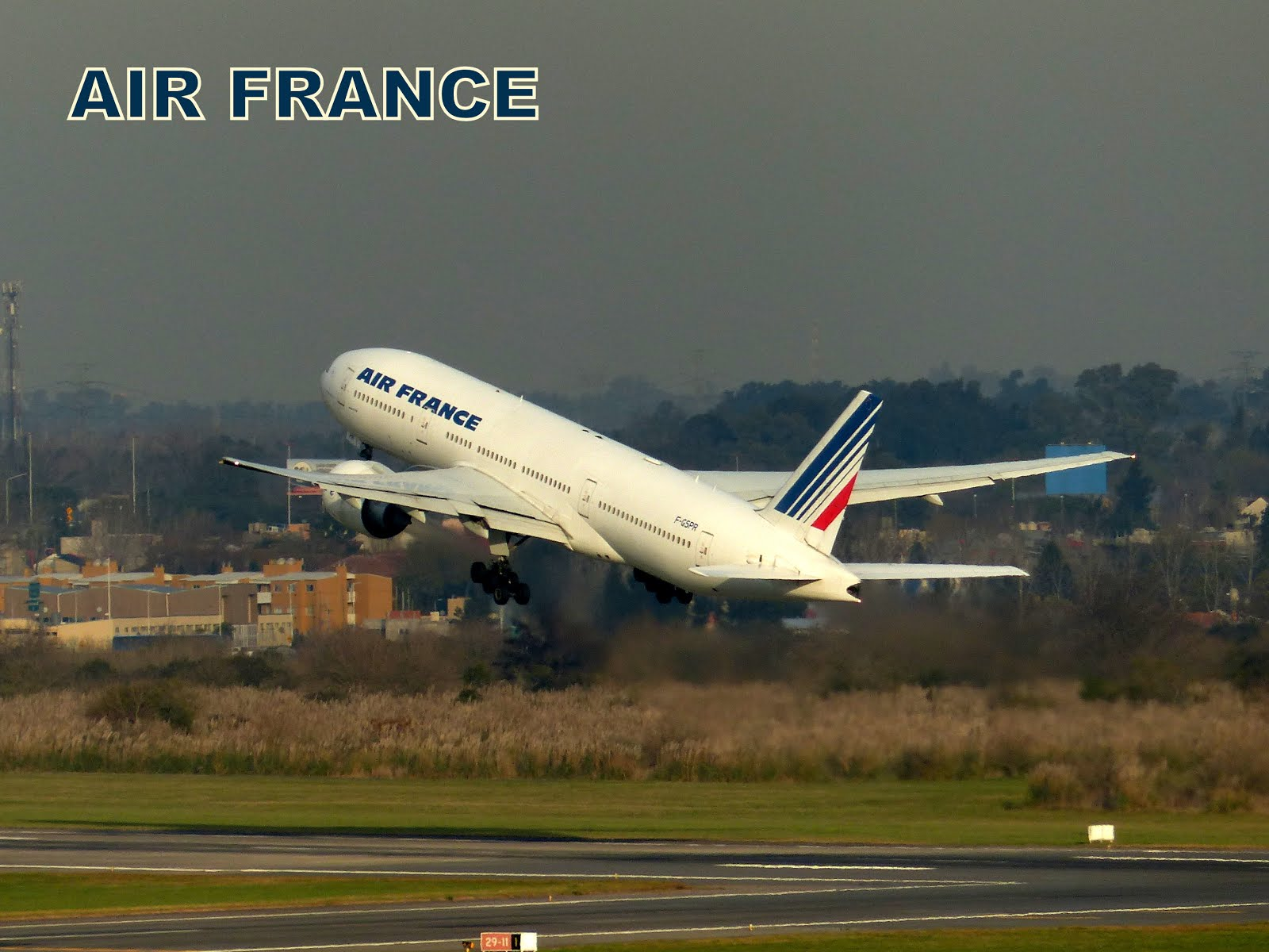 AIR FRANCE en Ezeiza
