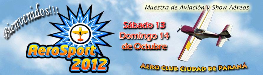 AERO SPORT Paraná - Muestra de Aviación y Shows Aéreos