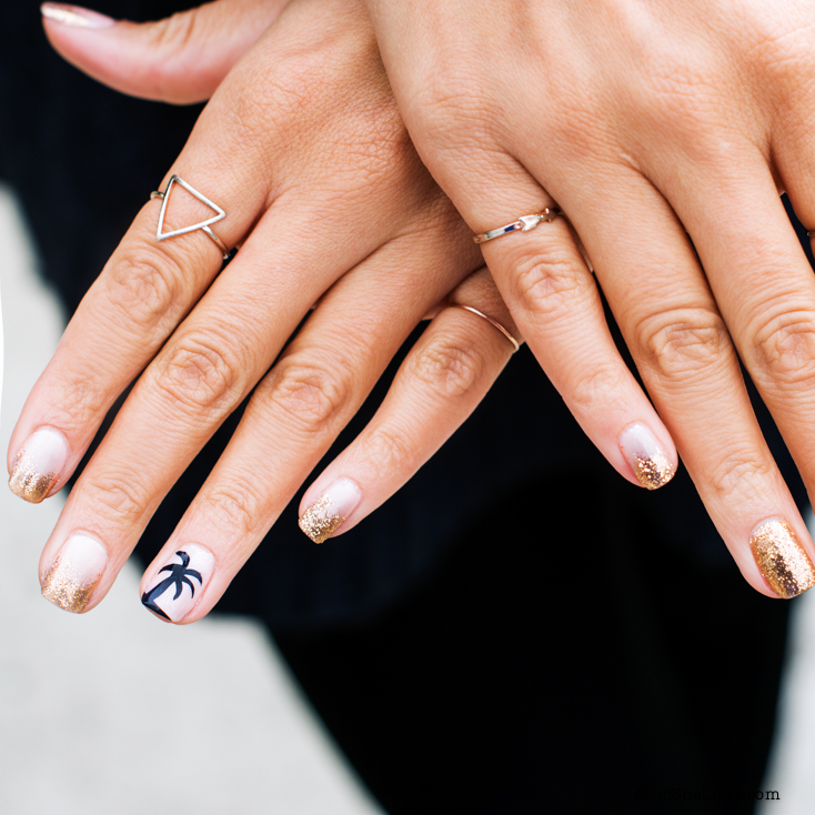 Stuff She Likes: A Gals Guide to Glitter: Nail art for the classic ...