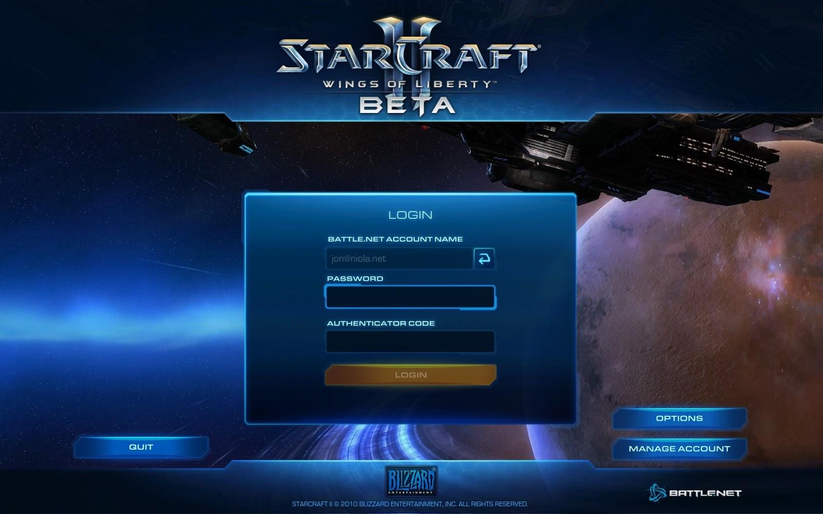 login in games