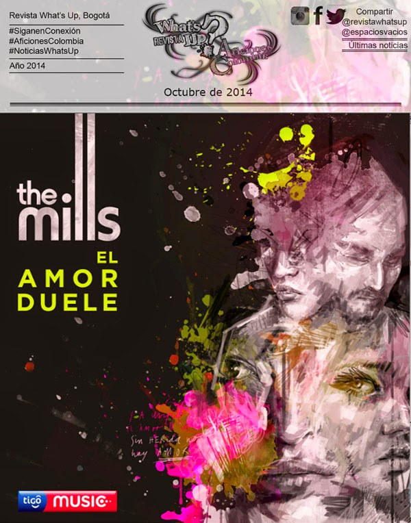 TIGO-MUSIC-PRESENTA-THE-MILLS-EL-AMOR-DUELE-New-Single