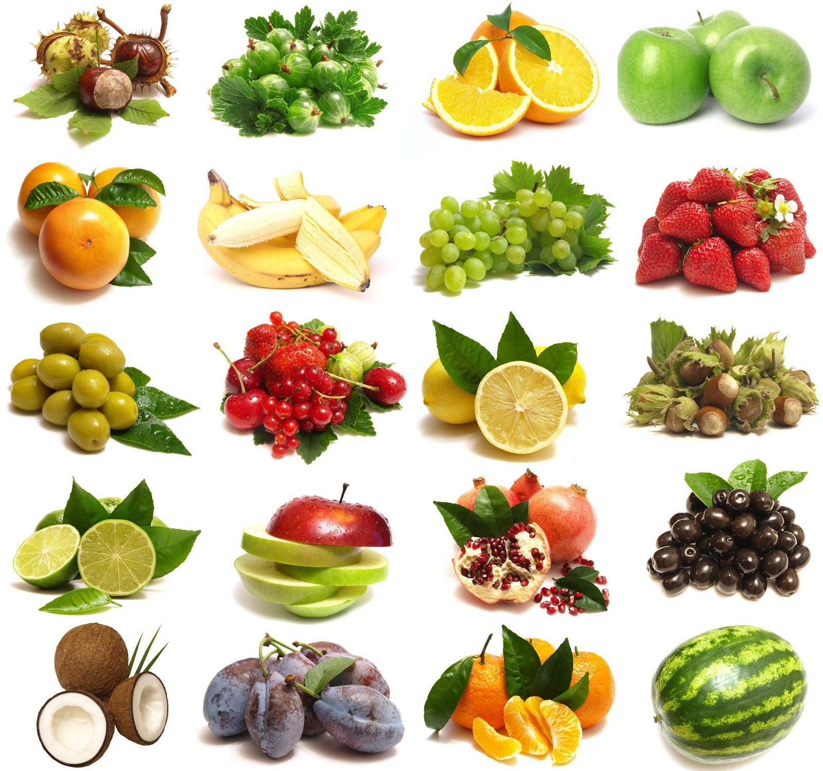 Foto frontera collage con 20 fotos de frutas en alta resoluci 243 n