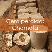 Cera perdida: Chamota