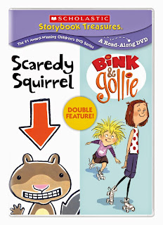 Scaredy Squirrel & Bink & Gollie Double Feature