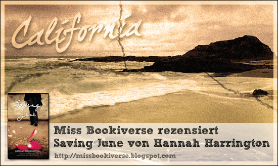 Miss Bookiverse rezensiert Saving June von Hannah Harrington