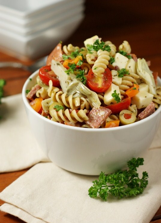 Antipasto Salad Recipe — Dishmaps