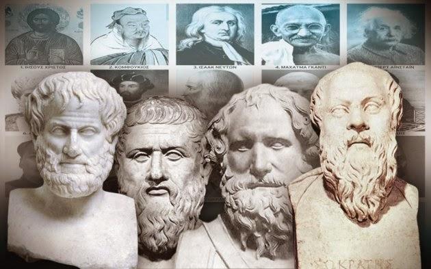 Οι τέσσερις αρχαίοι Έλληνες με τη μεγαλύτερη επιρροή στον πλανήτη..