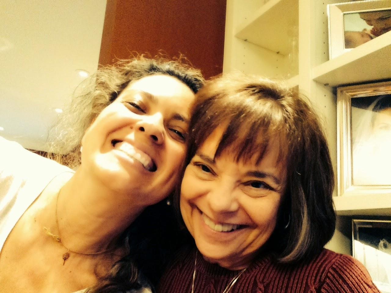 Com sua Mestre Judith em 2014