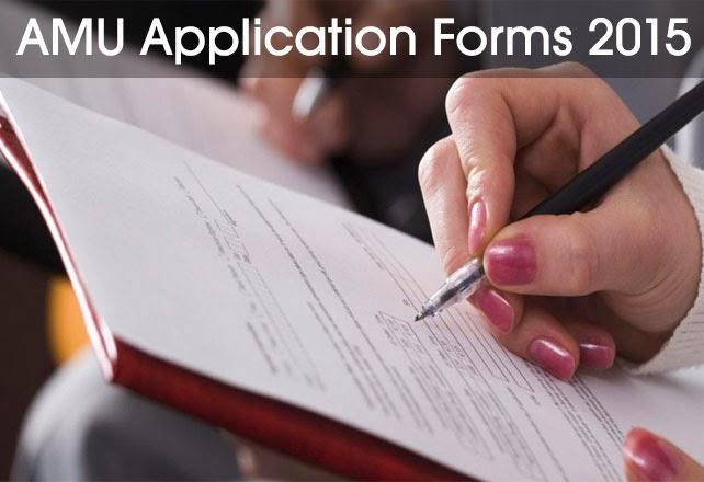 amu online application form 2015-16 www.amu.ac.in