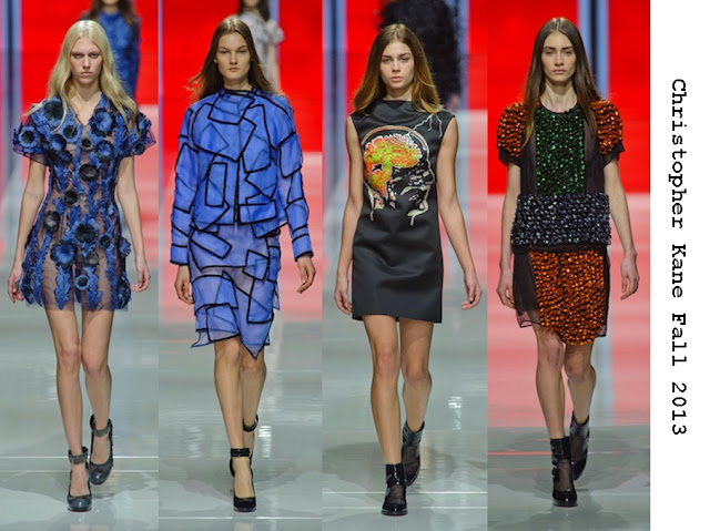 Christopher Kane Fall 2013 - A collection worth an investment for PPR