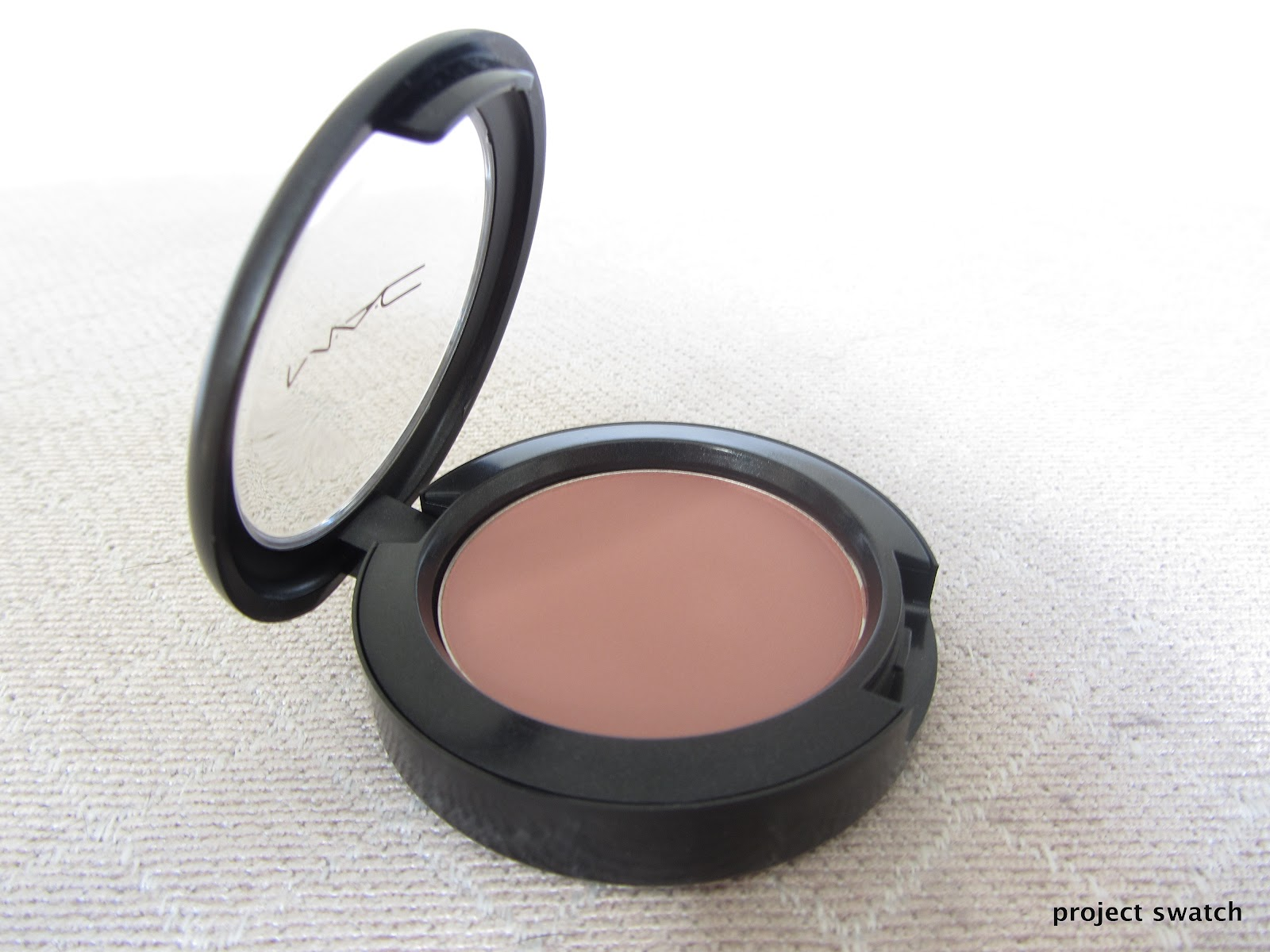 Mac Blushbaby Blush Review, Swatches, Photos - Project Swatch