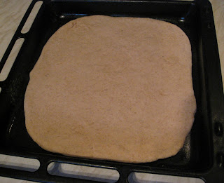 homemade pizza base
