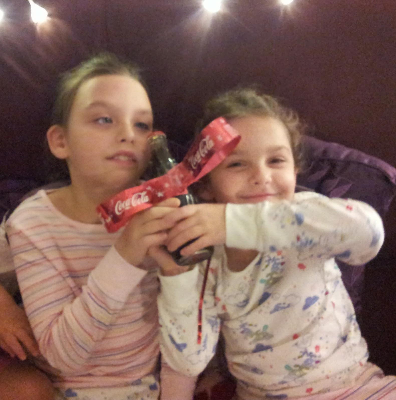 Coca-Cola The Magic Bow bottle