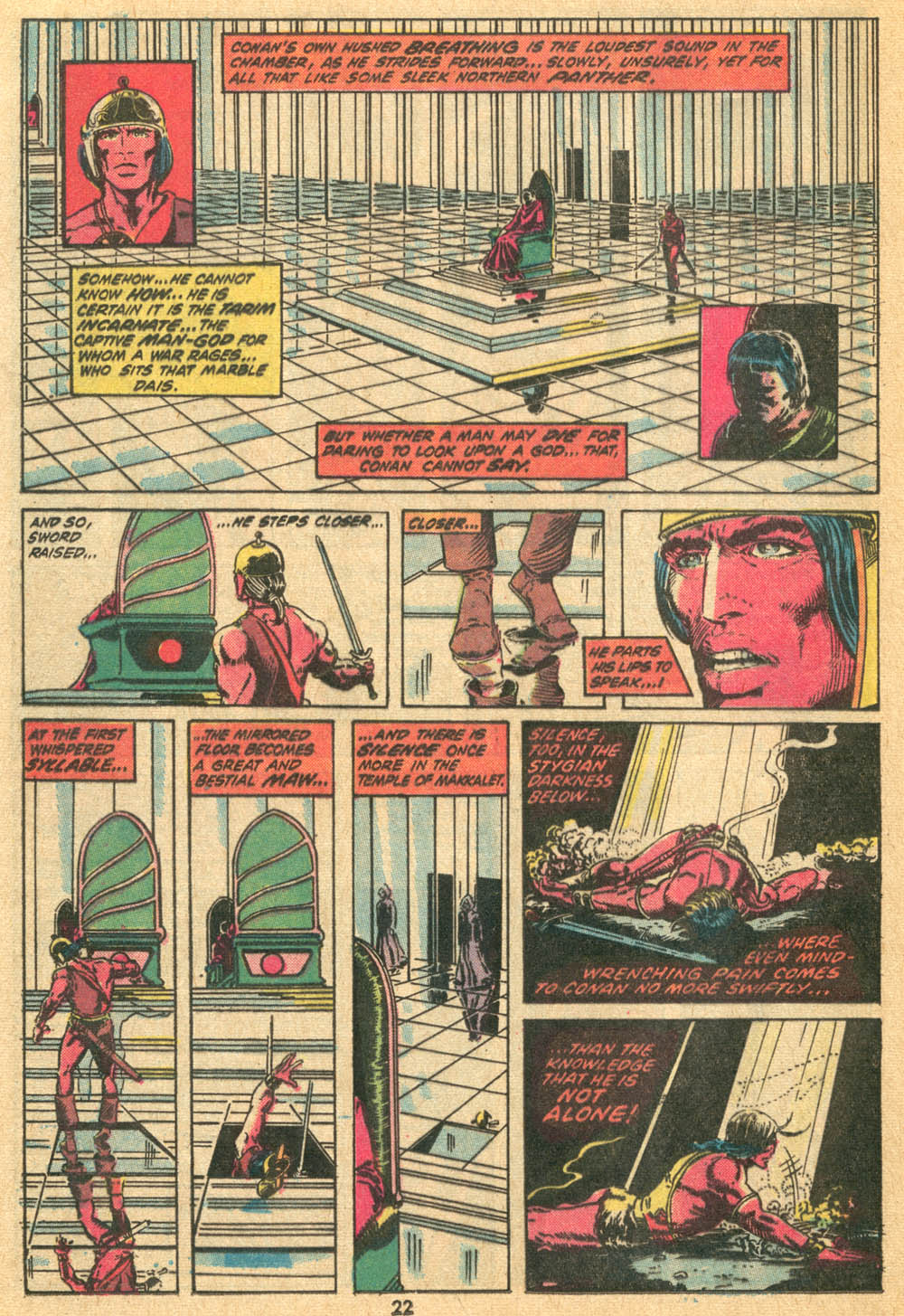 Conan the Barbarian (1970) Issue #20 #32 - English 15