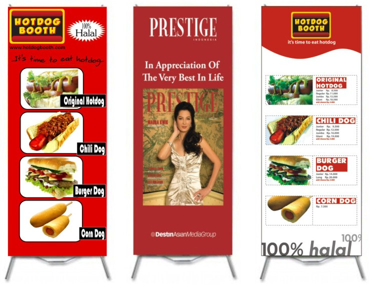 Contoh Banner Iklan Makanan Surat Jk