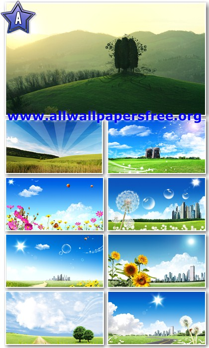 20 Digital Art Nature Wallpapers Full HD 1920 X 1080