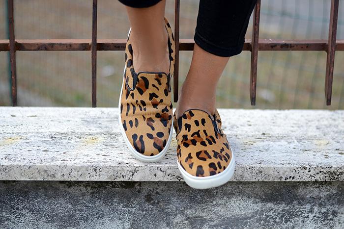 leopard print loafers steve madden