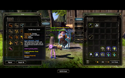 Dragon Nest - Temple Grass Seed