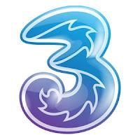 trik internet gratis provider three
