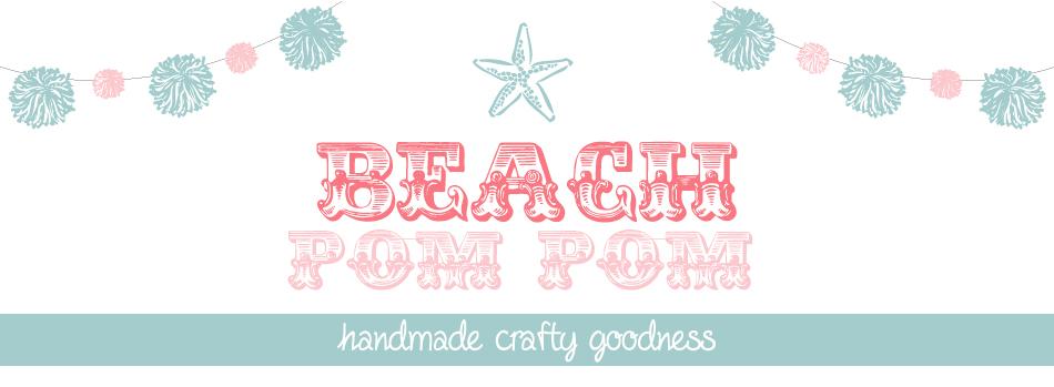 Beach Pom Pom by Tami Kenner