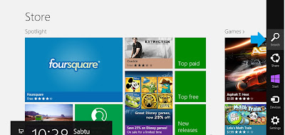 Cara Windows Store di Windows 8