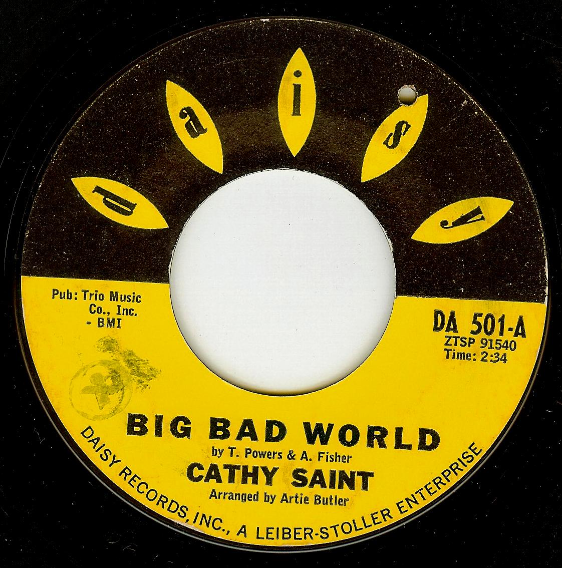 Cathy Saint Big Bad World Mr Heartbreak