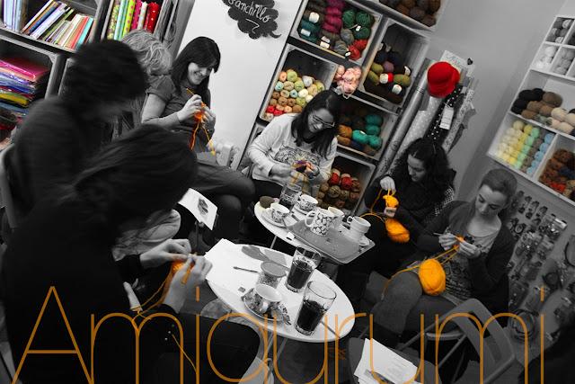 Taller monográfico Iniciación Amigurumi: Sweet sixteen craft store