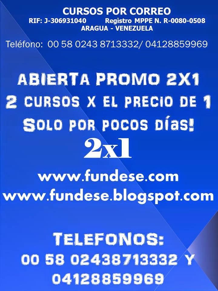 ABRIO PROMO 2X1