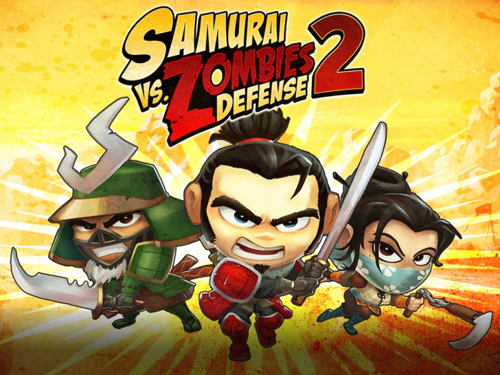 Samurai vs Zombies Defense 2 Free App Game By Glu Games Inc