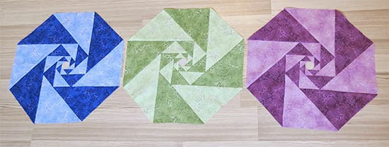 Two Color Patchwork Blocks
