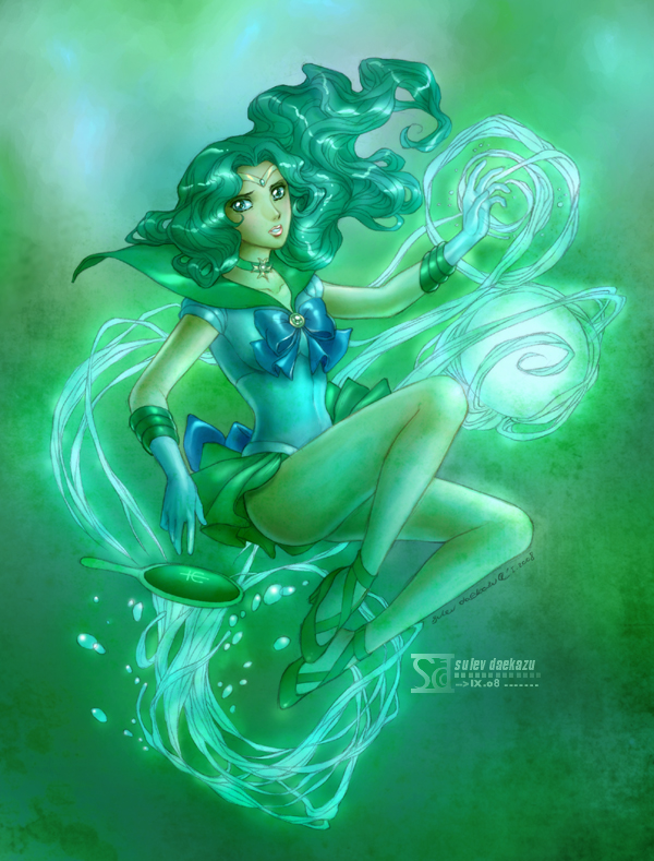 Sailor Moon: Neptune por daekazu