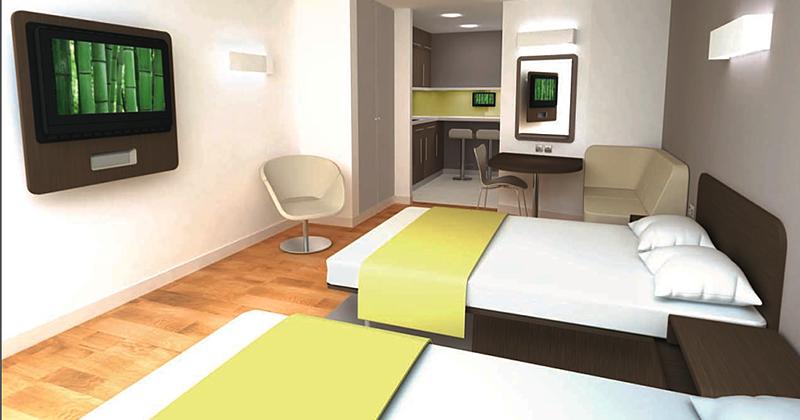 Economy Hotel Room Colors