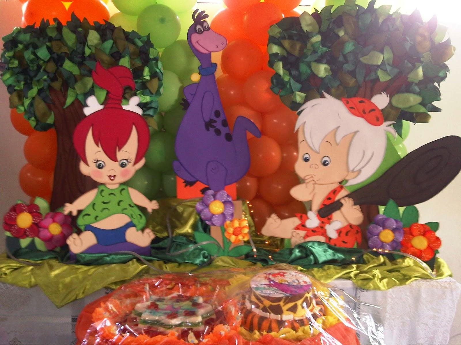 MuyAmeno.com: Fiestas Infantiles Decoradas con los Picapiedras ...