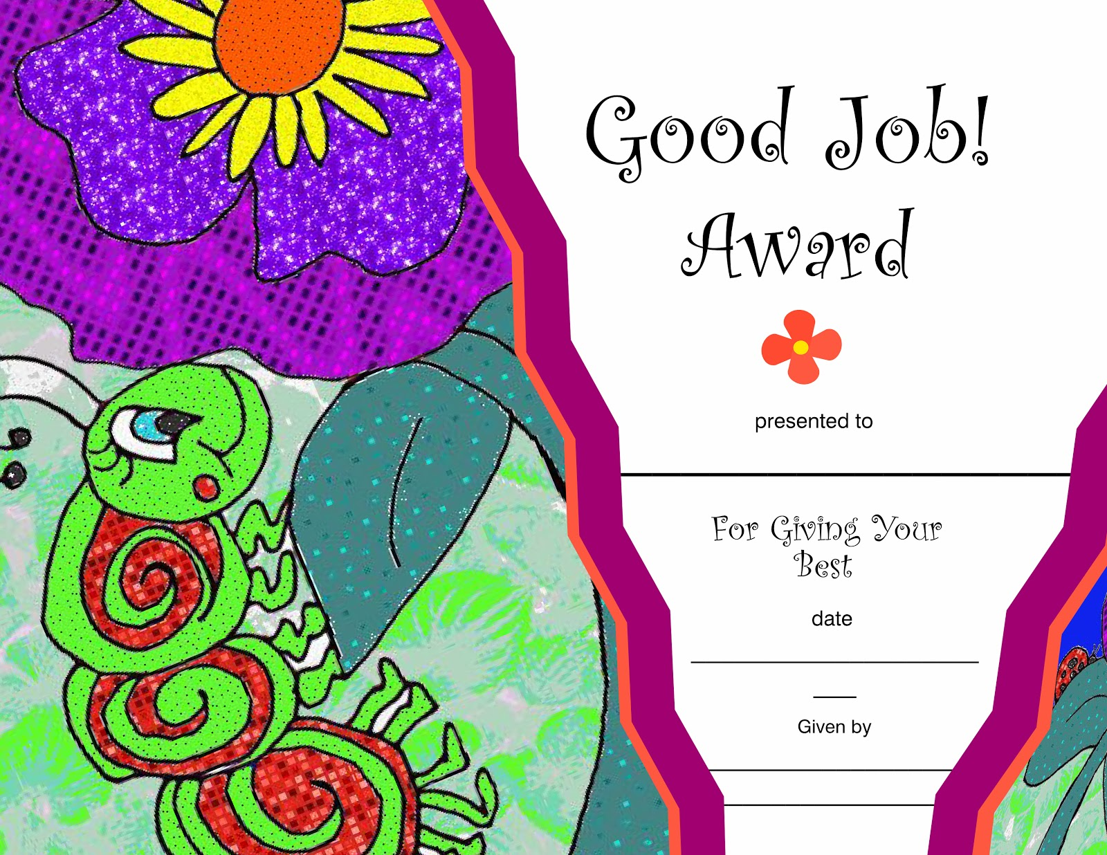 children s gems in my treasure box 2014 good job award