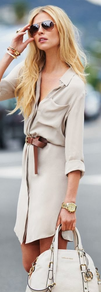 light coat dress for summer with handbag