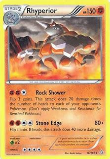 Rhyperior Primal Clash Pokemon Card