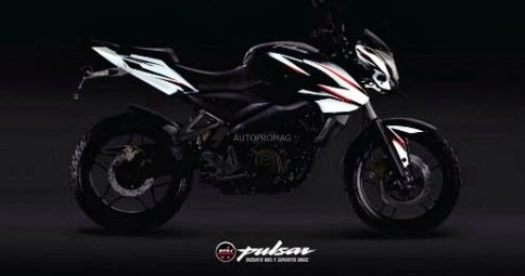 Pulsar 200 Ns new black and white color