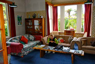 Pat in our Hostel (Trip Inn) - Westport, New Zealand