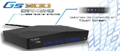 Atualizacao do receptor Globalsat GS300 Diamond V3.14