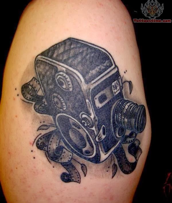 80 Camera Tattoo Designs For Men: Mejores Tatuajes: Tatuajes De Camaras De Fotos