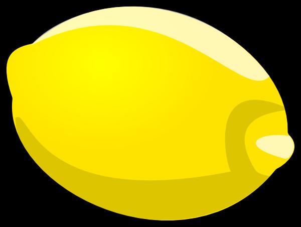 Cartoon Lemon Clip Art