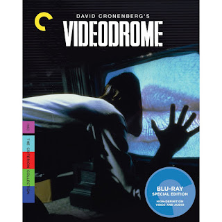 Videodrome Blu-Ray cover and Amazon link