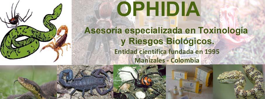 -OPHIDIA - Asesoría Especializada en Toxinología y Riesgos Biológicos.