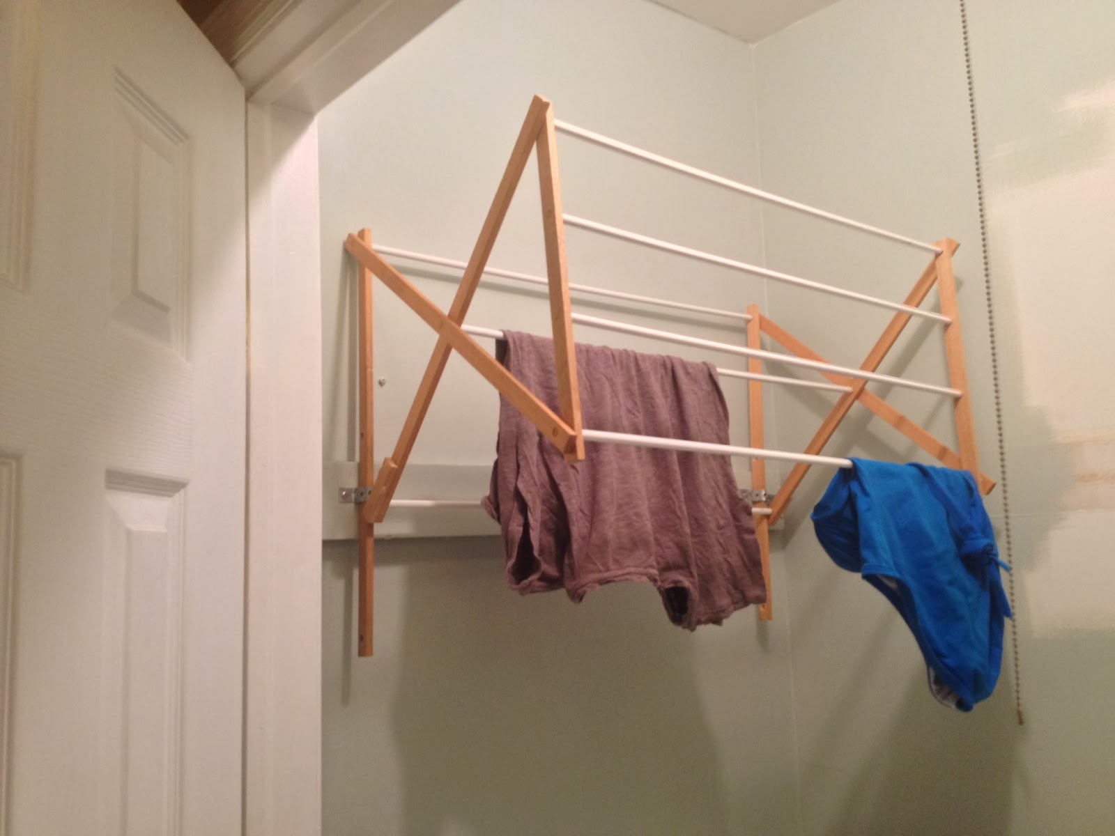 Laundry Wall Hanger Two It Yourself Diy Laundry Drying Rack Wall Mount From Floor