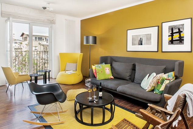 Sin miedo al amarillo decoracion - Decoracion salon amarillo ...