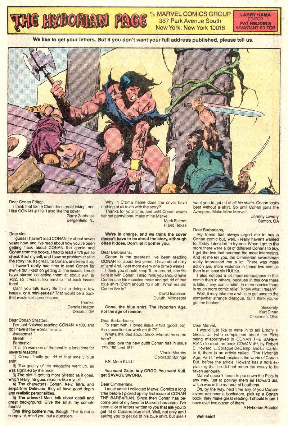 Conan the Barbarian (1970) Issue #184 #196 - English 25