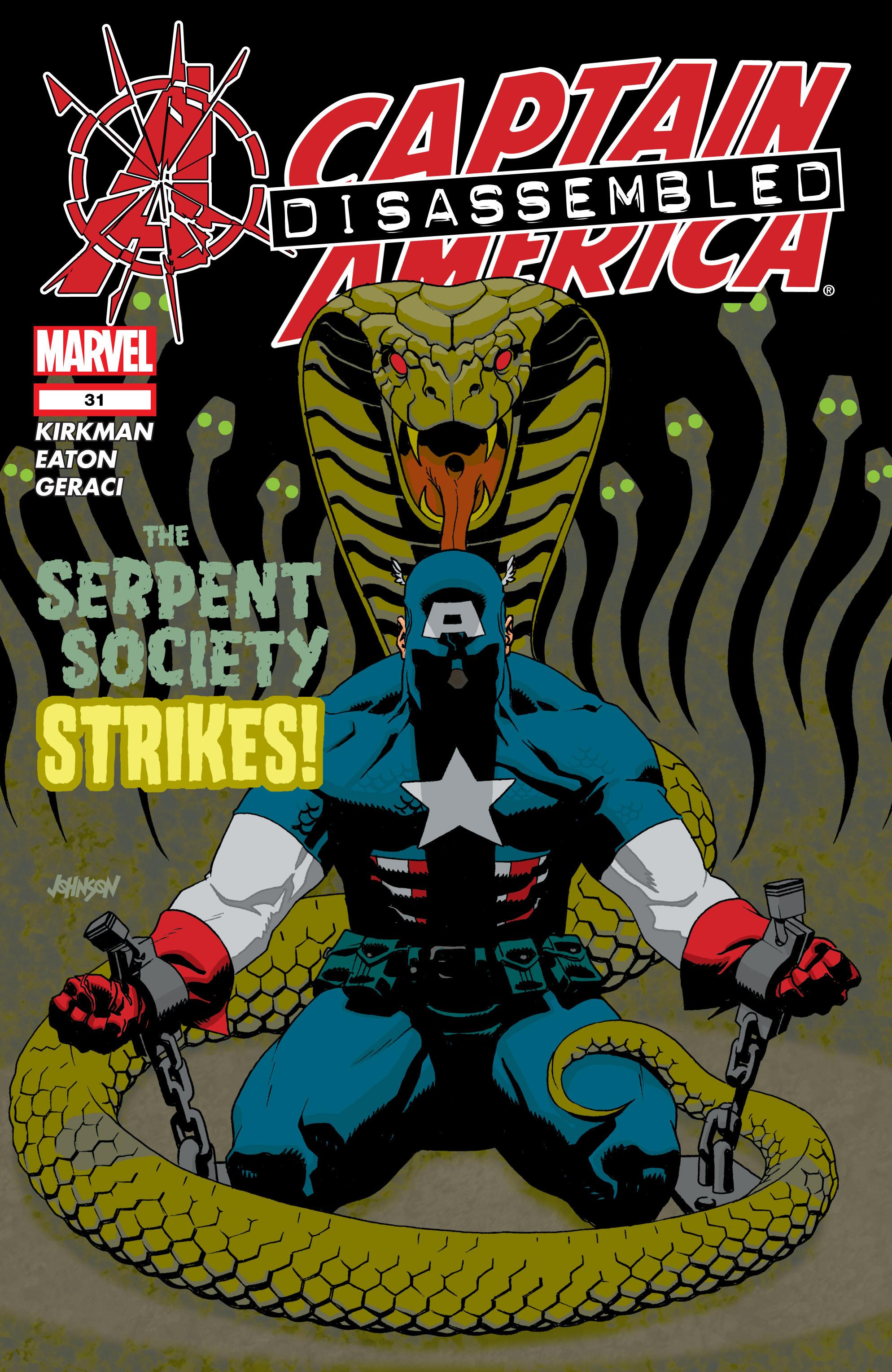 Captain America (2002) Issue #31 #32 - English 1