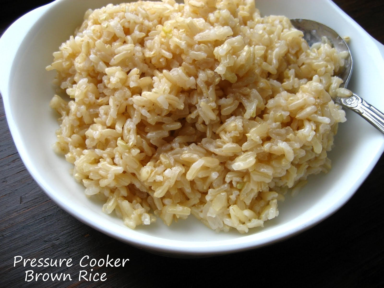Home Cooking In Montana: Pressure Cooker Brown Rice