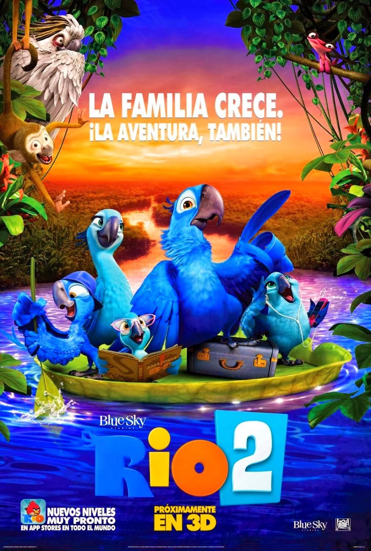 Rio 2 (2014): Ver gratis online streaming en español. Película en vivo sin cortes, sin descarga, ni torrent.